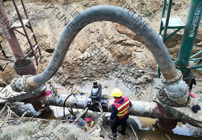 hot tap & line stop on 16-inch gas pipeline for installing the valve